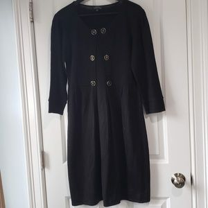 NWOT Tahari Size Medium woolen black winter dress